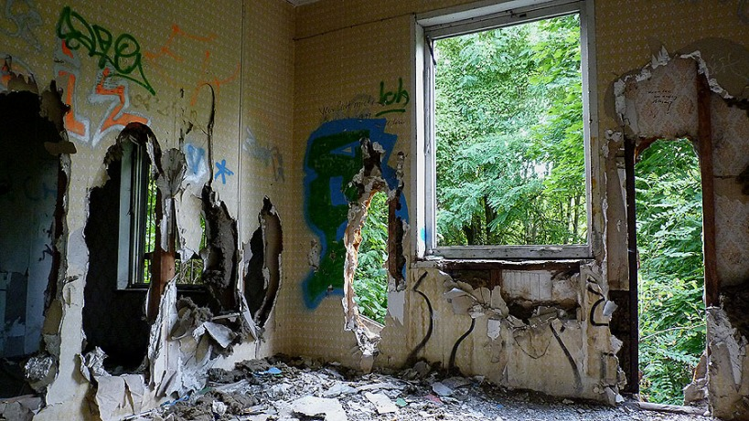 Verlassene Gebäude Berlin