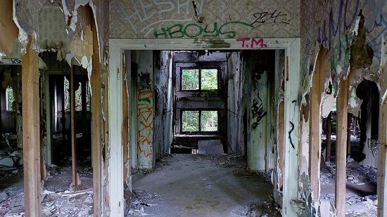Berlin verlassenes Gebäude