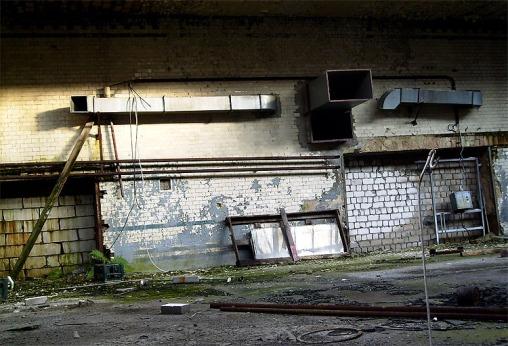 verlassenes Gebäude Berlin