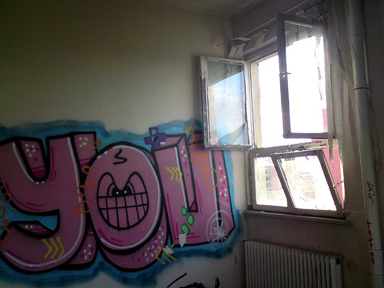 Berlin Verlassene Halle