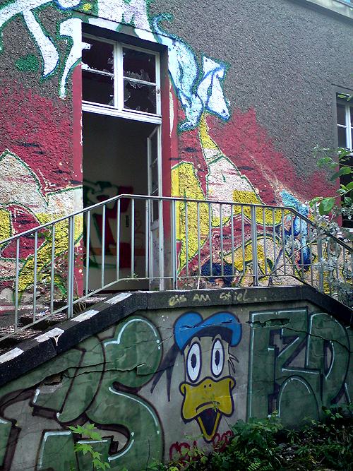 Berlin Verlassene Location
