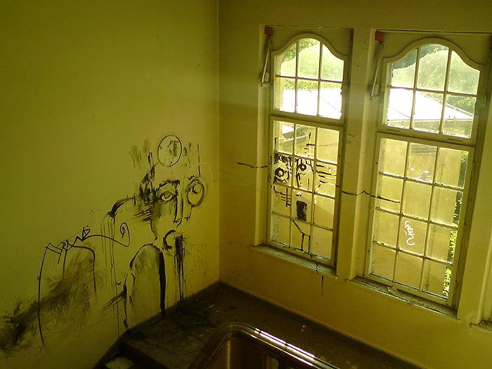 Berlin Verlassenes Haus