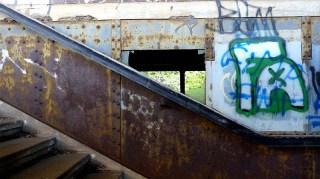 Verlassenes Bahngelände