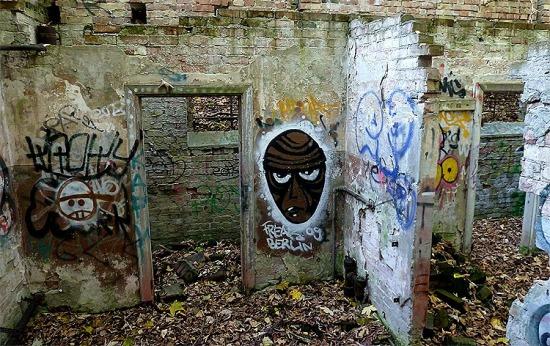Graffiti Verlassene Orte