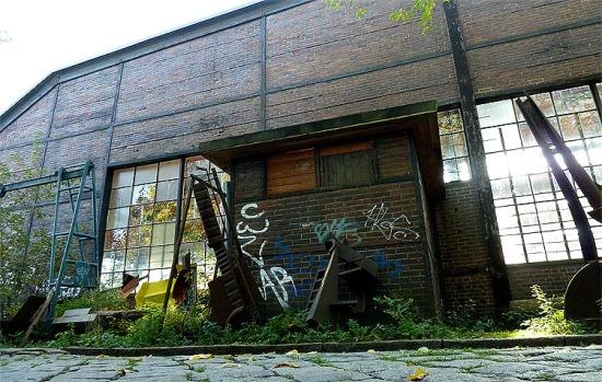 Verlassene Orte Graffiti Berlin